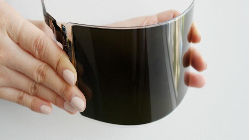 Samsung presenta una pantalla OLED flexible irrompible