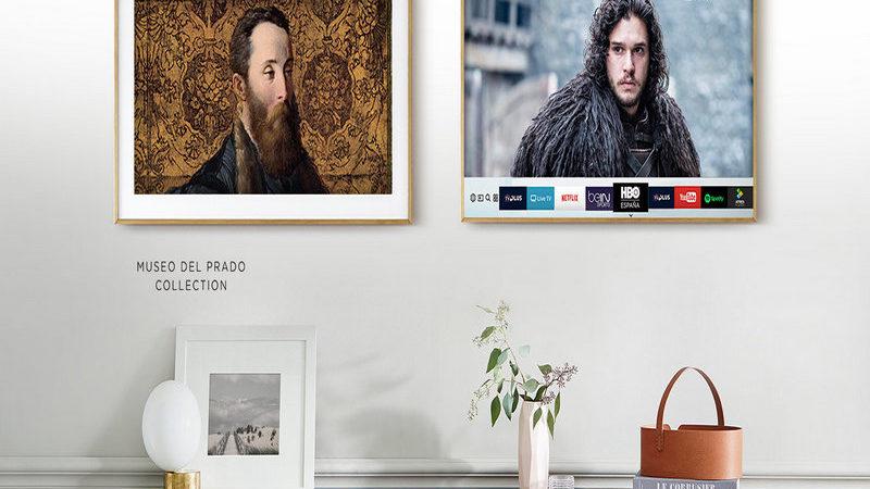 Samsung y su televisor artístico: The Frame 2018