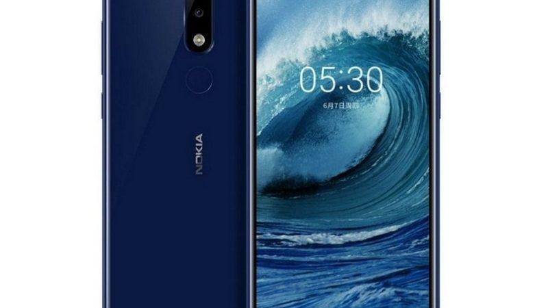 Un móvil inteligente con Android: Nokia 5.1 Plus