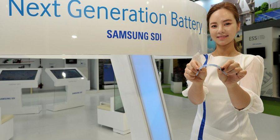 Samsung podría hacer baterías flexibles para el Galaxy X