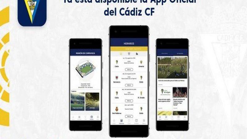 Cádiz CF ya tiene su app en Google Play y en App Store