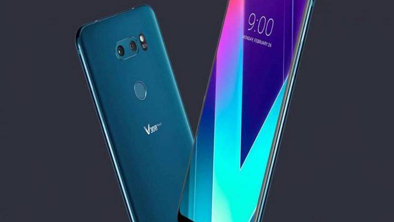 LG lanzaría su Smartphone V40 con cinco cámaras