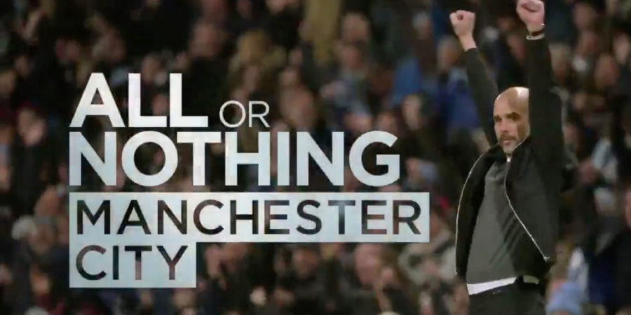 Prime Video estrena la serie documental 'All or Nothing: Manchester City'