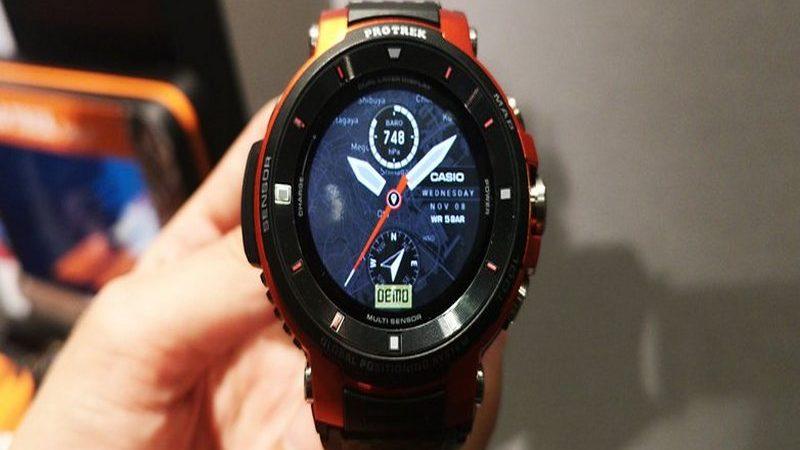Casio llegó a la IFA 2018 de Berlín con su reloj Pro Trek WSD-F30