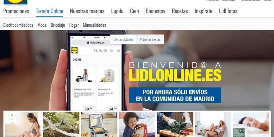 Lidl lanza un sitio web para que realices tus compras por Internet