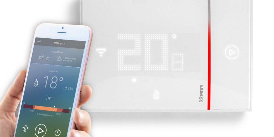 Legrand presenta su termostato Smarther conectado a la red WiFi
