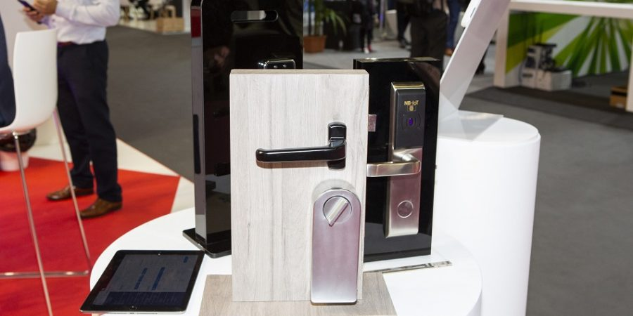 Vodafone y Huawei lanzan una cerradura que se abre a distancia