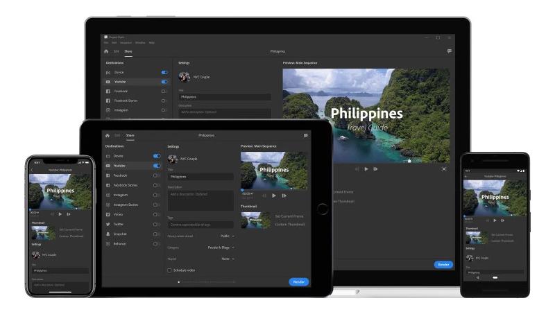 Adobe lanza Premiere Rush CC, la aplicación simplificada para edición de vídeo