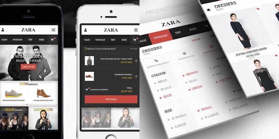 Zara inaugura nueva tienda online para llegar a más mercados