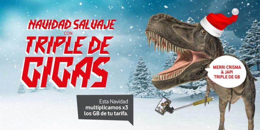 Vodafone yu regala 10GB a sus clientes por Navidad