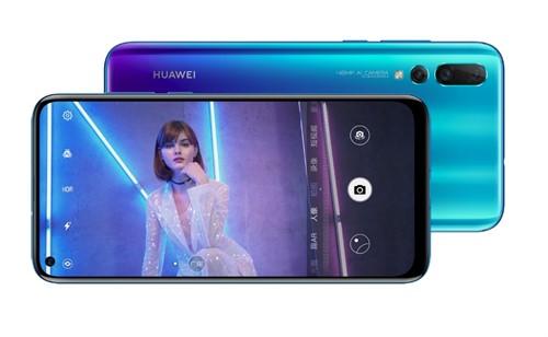 Huawei presenta su 'Nova 4' con cámara trasera triple