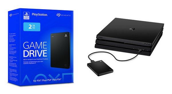 La PS4 ya tiene disco duro oficial de 2TB