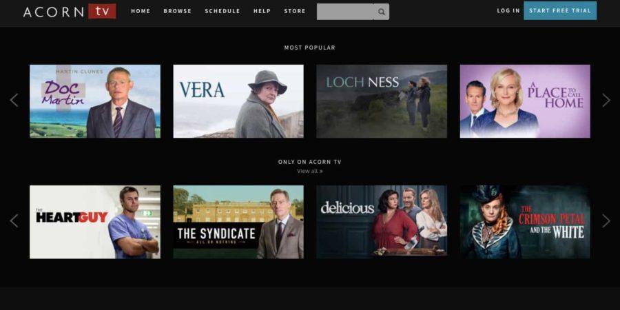 Acorn TV, disponible para los usuarios de Android en España