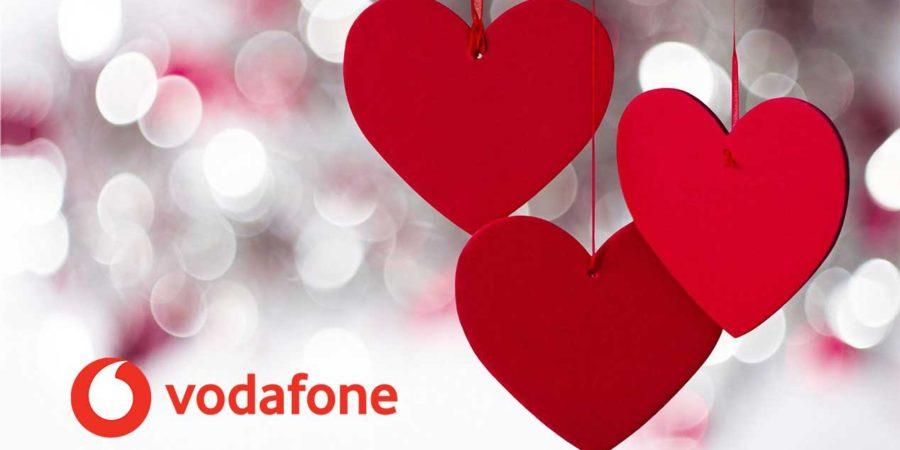Vodafone regala a sus clientes 50GB extra por San Valentín