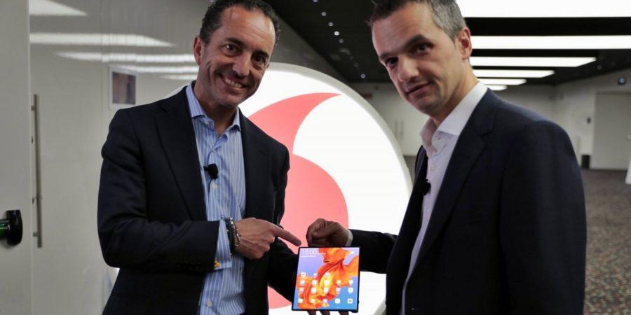 Vodafone alcanza acuerdos claves para lanzar su 5G en España en 2020
