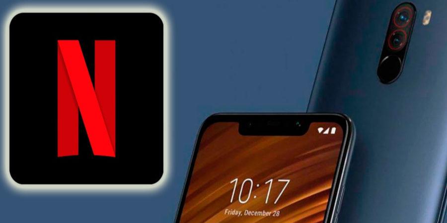 Actualización de PocoPhone F1 para disfrutar de Netflix en HD