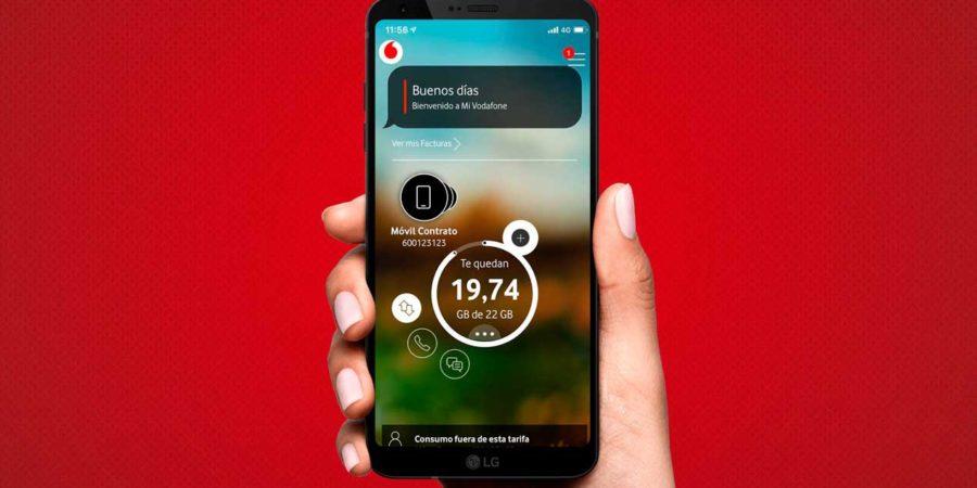Vodafone renueva la app Mi Vodafone con varias novedades