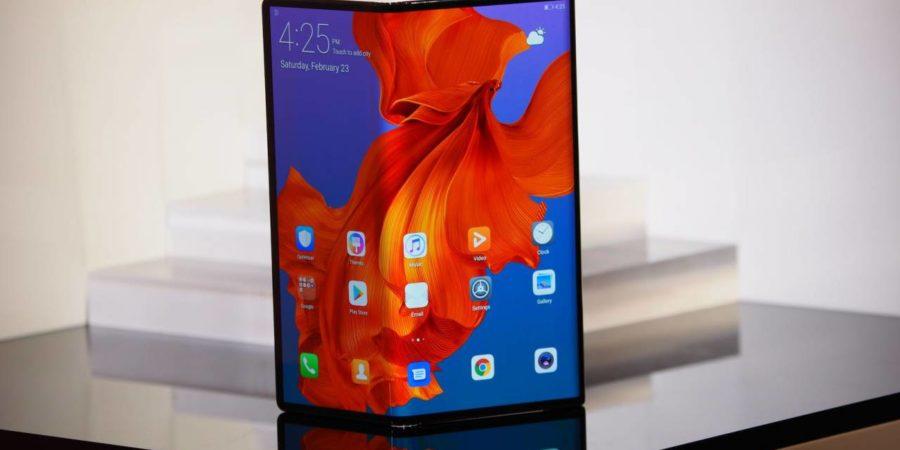El Huawei Mate X 5G alcanza una velocidad de 1 Gbps en descarga