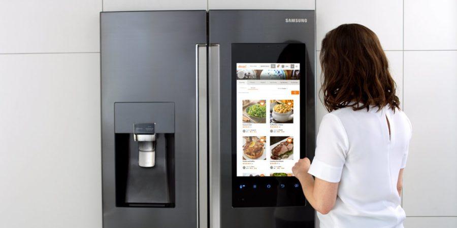 Samsung lanza en España una nevera con WiFi y pantalla