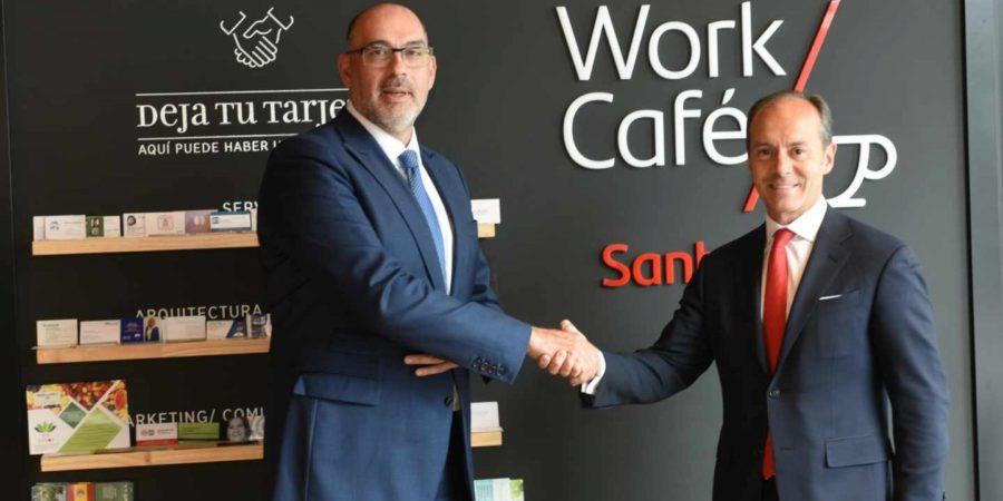 Santander y Telefónica lanzan la primera oficina bancaria 5G de Europa
