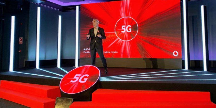 Vodafone anuncia más detalles sobre el lanzamiento del 5G en España