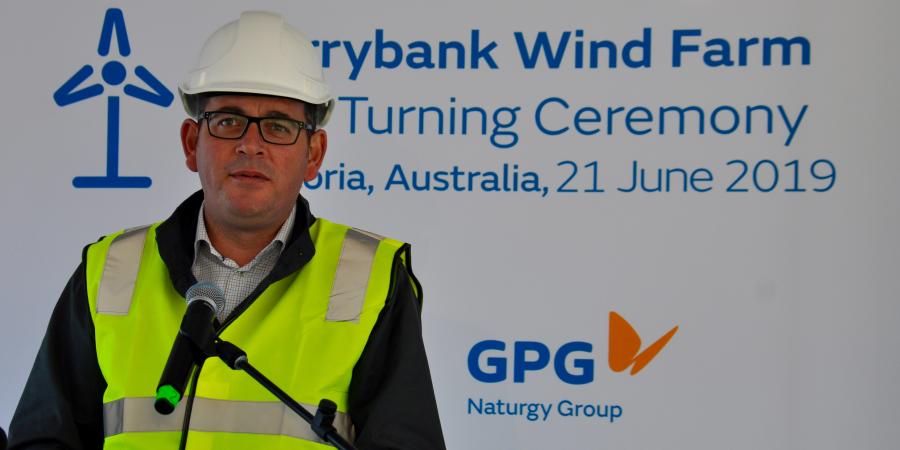 Naturgy inicia la construcción de un parque eólico en Australia