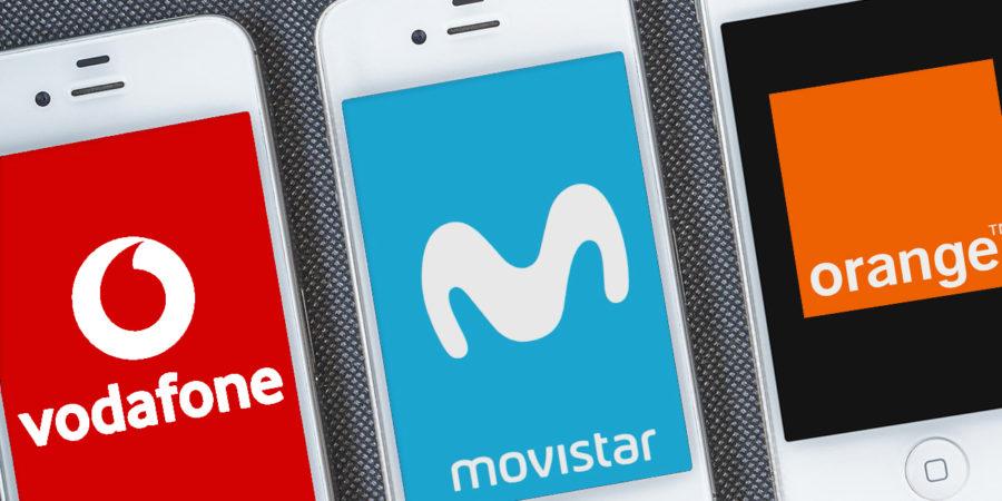 Los precios de Movistar, Vodafone y Orange, por encima de la media europea