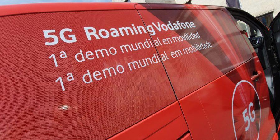 Vodafone anuncia la disponibilidad de 5G en roaming en Europa