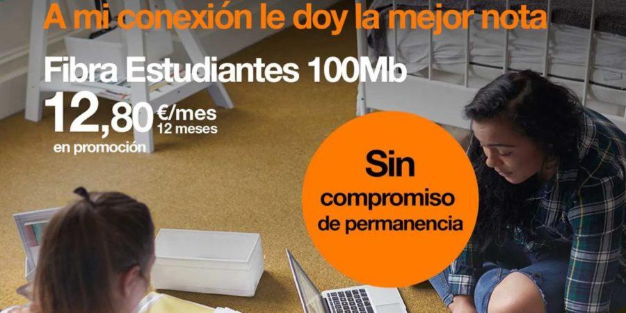 Orange lanza una fibra para estudiantes por 30,95 euros al mes