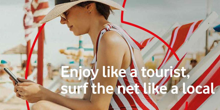 Vodafone Traveller, una nueva tarifa prepago destinada a turistas