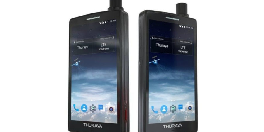 Thuraya X5-Touch, el primer móvil satelital con Android