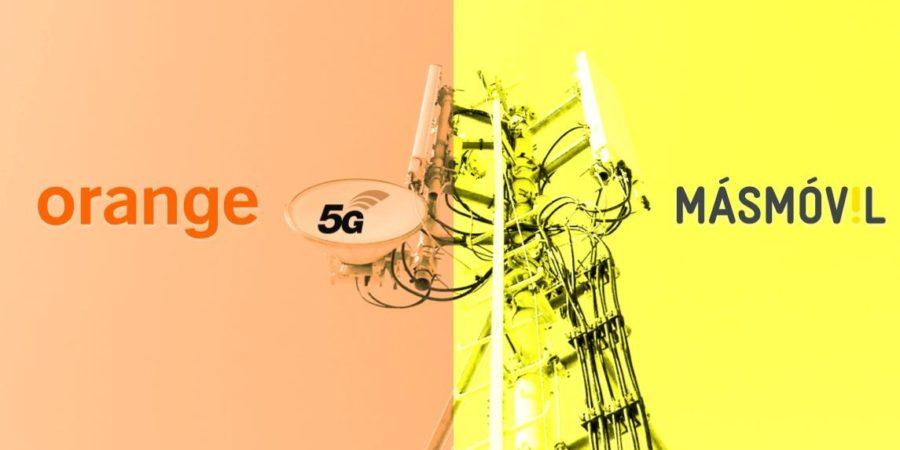 MásMóvil compartirá redes 5G con Orange España