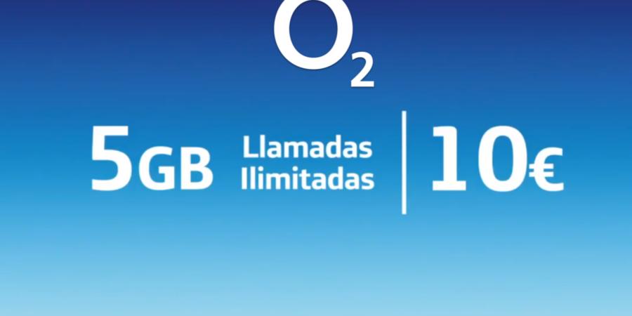 O2 lanza una tarifa sólo móvil de 5 GB por 10 euros al mes