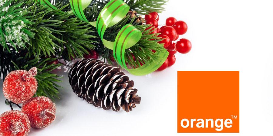 Orange regala hasta 15 GB de datos en sus planes prepagos por Navidad