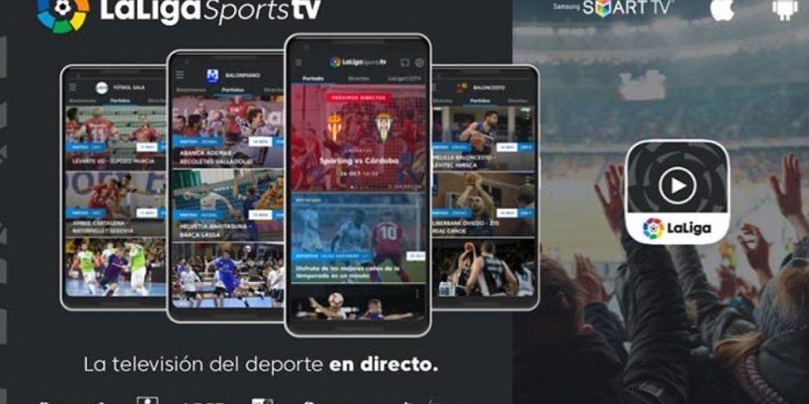 LaLigaSportsTV, disponible para todos los que tengan una Smart TV