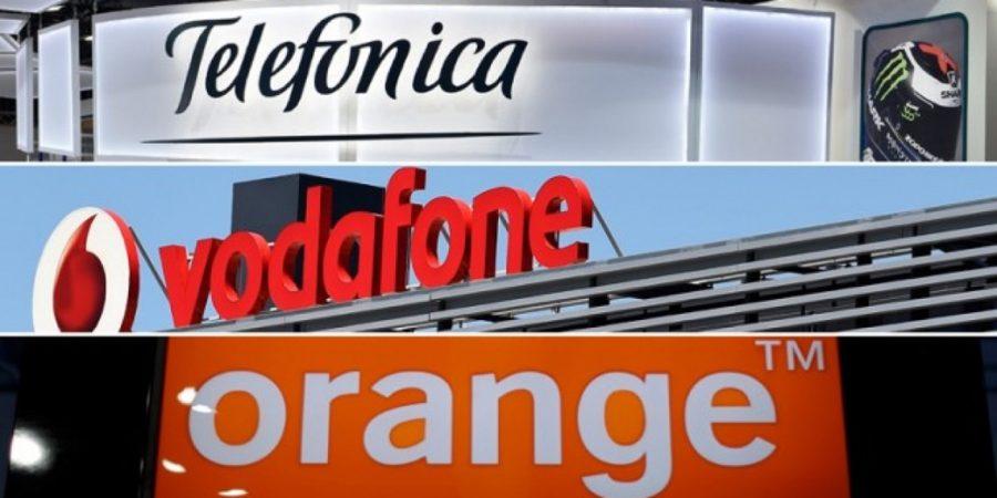 Telefónica, Vodafone y Orange valen casi la mitad que hace una década