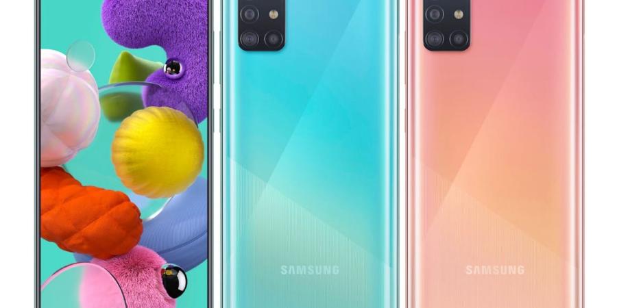 Samsung lanza el Galaxy A51 y A71 en el mercado español