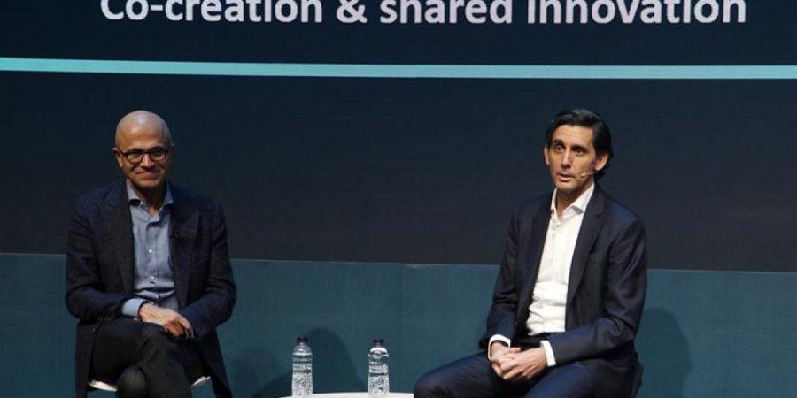 Telefónica y Microsoft amplían su alianza digital en España