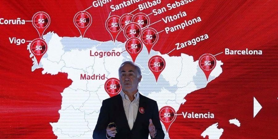 Los servicios comerciales 5G de Vodafone llegan a Badajoz