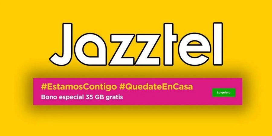 Jazztel regala 35 GB más hasta finales de mayo