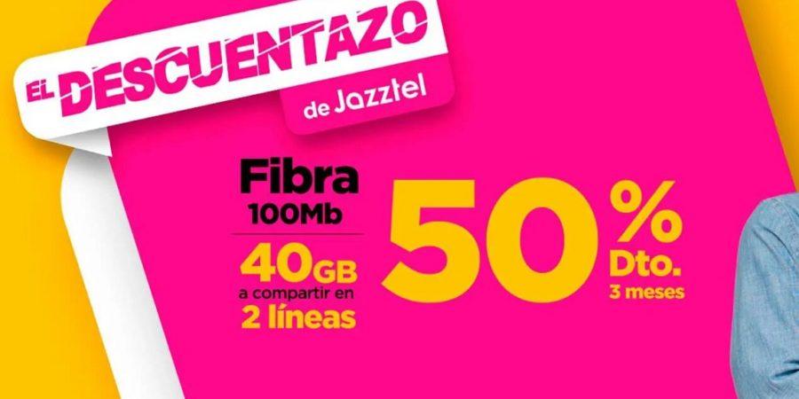 Jazztel presenta una serie de ofertas con hasta un 50% de descuento