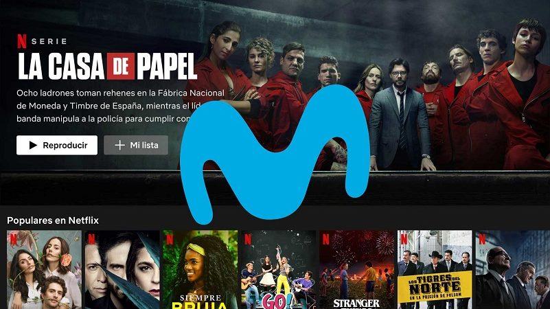 Movistar lanza nuevas tarifas Fusión con Netflix gratis