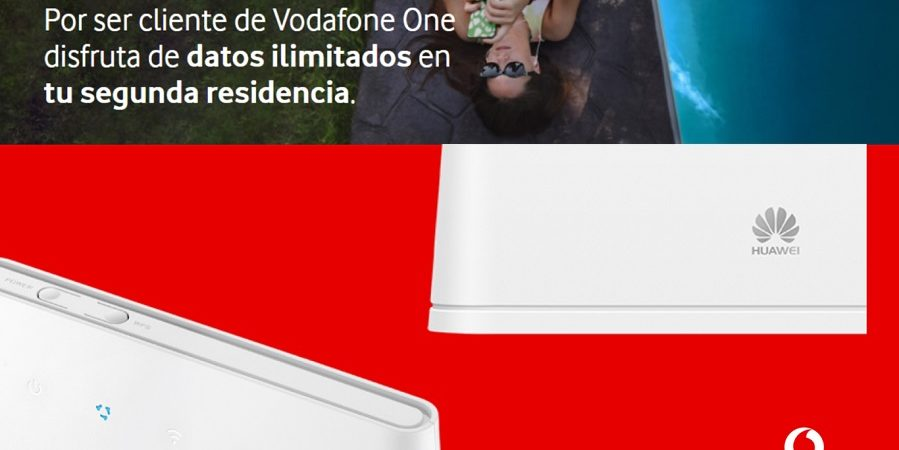 Vodafone lanza un servicio de Internet para segundas residencias