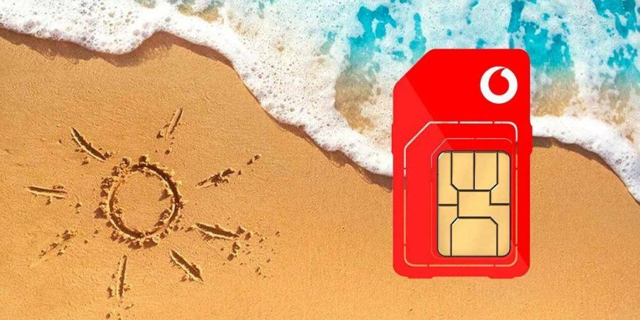 Vodafone lanza sus ofertas de verano con GB en prepago