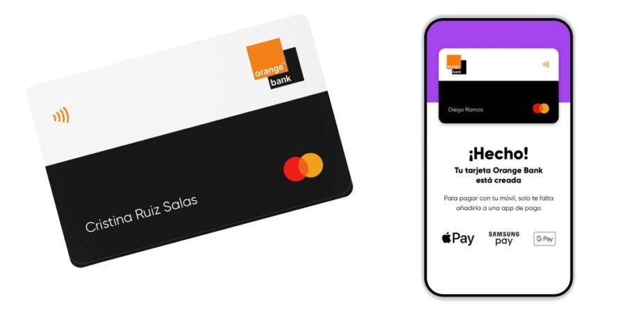 Orange Bank presenta la primera tarjeta 100% móvil de España