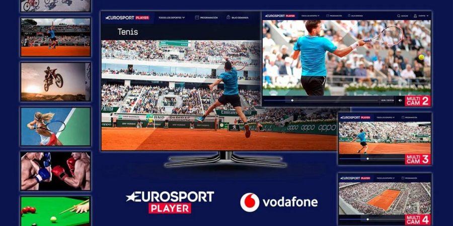 Vodafone TV añade Eurosport Player a su catálogo