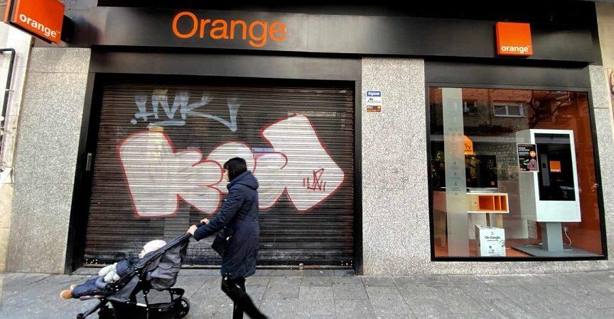 Orange sufre una incidencia masiva que afecta a sus usuarios