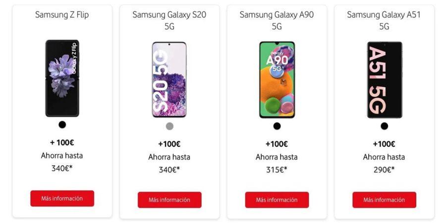 Re-estrena de Vodafone, una nueva forma de ahorrar en tu nuevo teléfono