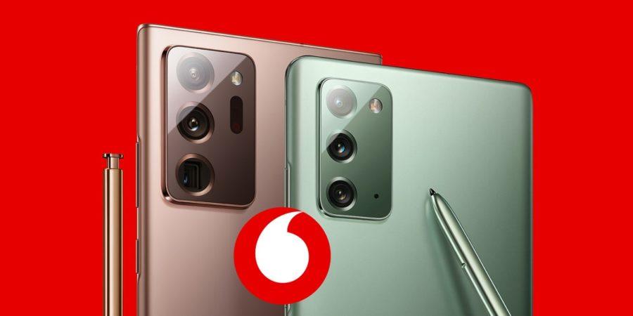 Los Galaxy Note 20 y Note 20 Ultra ya tienen precio en Vodafone