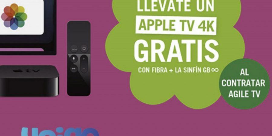 Gracias a Yoigo puedes llevarte el Apple TV 4K gratis